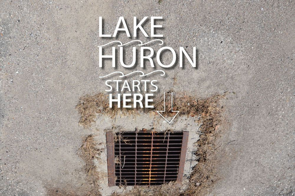 Love Your Greats Day is this Saturday, August 8, 2020. This year, think about how Lake Huron starts here.